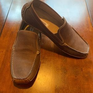 Leather Steve Madden men's loafers